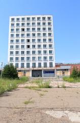 Здание управления завода Сибволокно