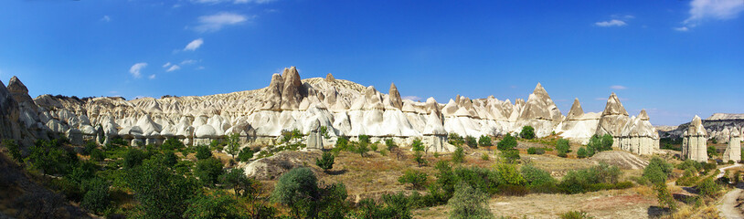 Cappadocia, in the valley of love, unusual rock formations