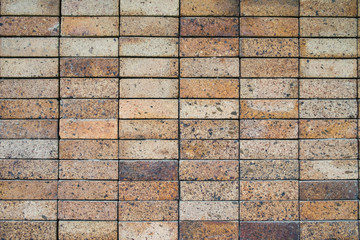 Brown mosaic wall, Background