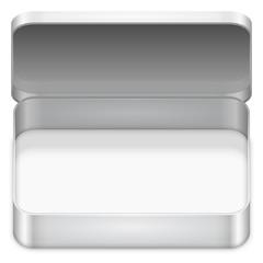 Blank metal box