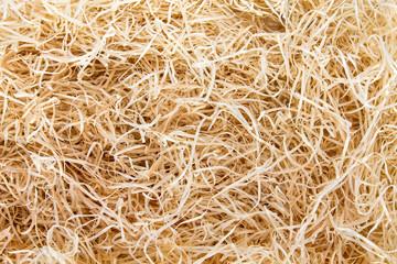Straw. Hay.