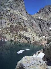 Lac de Capitello en Corse