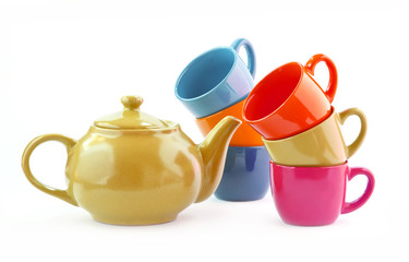 Ware set for tea, coffee