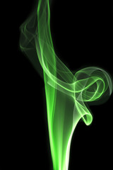 smoke of Joss stick