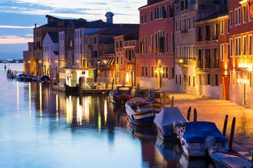 foto notturna di venezia 4528