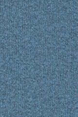 Woolen Woven Fabric Dark Powder Blue Grunge Texture