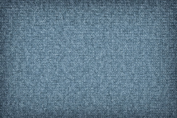 Woolen Woven Fabric Powder Blue Vignette Grunge Texture Sample