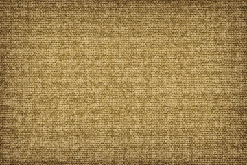 Woolen Woven Fabric Dark Yellow Vignette Grunge Texture Sample