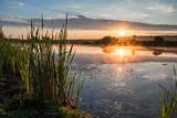 Sunrise on a lake - 67591841