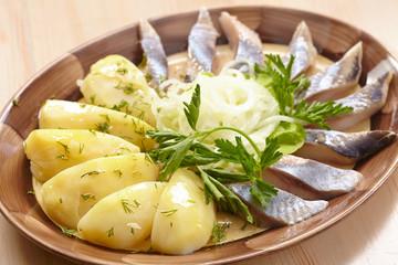 Matjes with Potatoes
