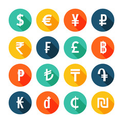 Money icons set.