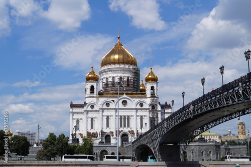 Foto op Plexiglas Kiev Christ the Savior Cathedral in Moscow