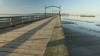 White Rock Pier Morning Workout