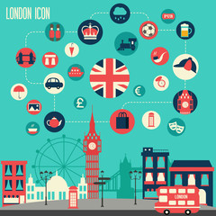 London icon set.