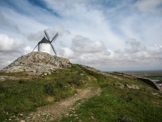 Windmills at Consuegra, Spain