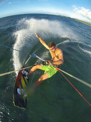 Kiteboarding POV Action Camera