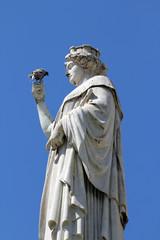 Statue de Nantes sur la Place Royale