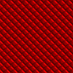 Red Padden Upholstery Pattern