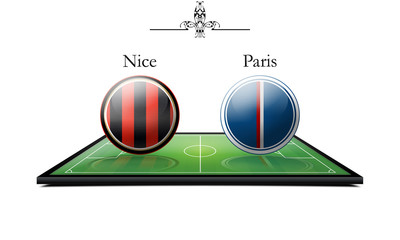 Nice vs paris