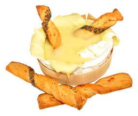 Camembert Cheese And Bread Sticks
