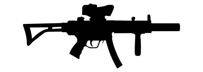 modern sub-mashine gun