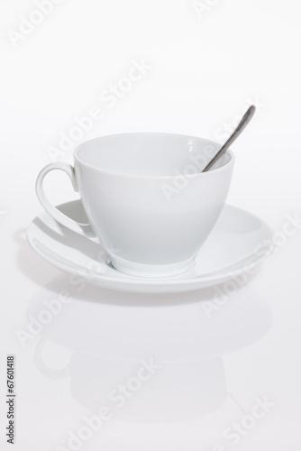 Tazzina da colazione con cucchiaino
