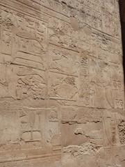 ルクソール神殿 レリーフ