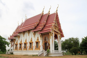 Temple at wat tummai, Bamg pa in, Ayutthaya