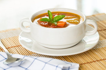 Vegetable soup (Borscht)