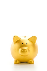 Piggybank isolated on white background
