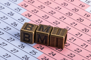 BMI body mass index concept