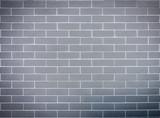 Grey block brick wall