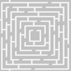 Seamless pattern with maze