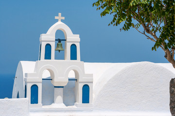 Church in Santorini. Greece