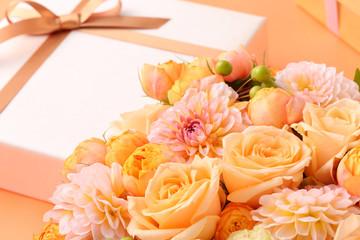 ギフト、花のアレンジ