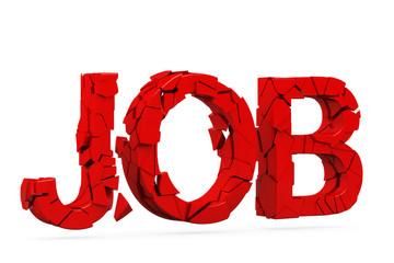 job verloren