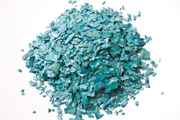 The Texture of Dried Spirulina Flake