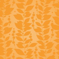 Autumn concept seamless pattern.