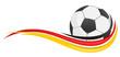 Symbol Fahne Ball Deutschland