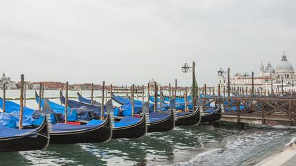 Venedig, Altstadt, Gondeln, Insel, Basilica, Frühling, Italien