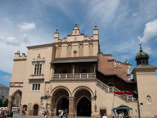 Cloth Hall in Krakow,Poland