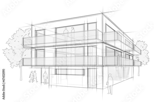 Architektur Entwurf - 67612890