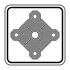Logo monument historique.