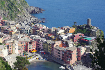 Vernazza from the top