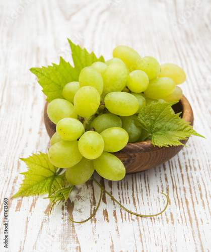 canvas print picture Fresh grape