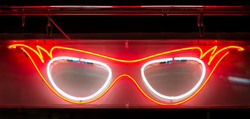 Neon Specs Sign