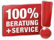 100% Beratung und Service - Beratung und Service