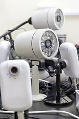 CCTV cameras pre-wired