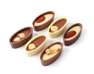 chocolates with nuts