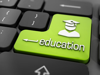 Online education or e learning concept